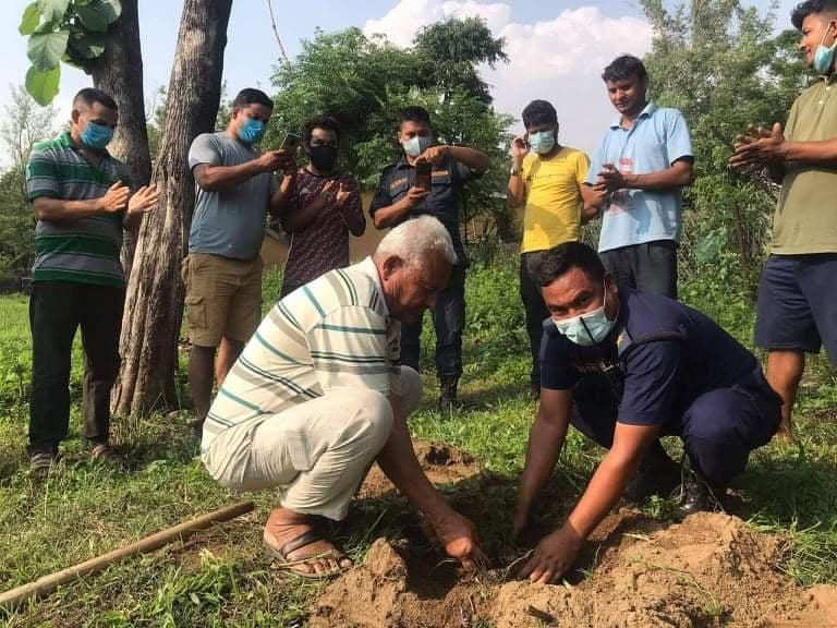 विश्व वातावरण दिवसका अवसरमा वृक्षारोपण कार्यक्रम